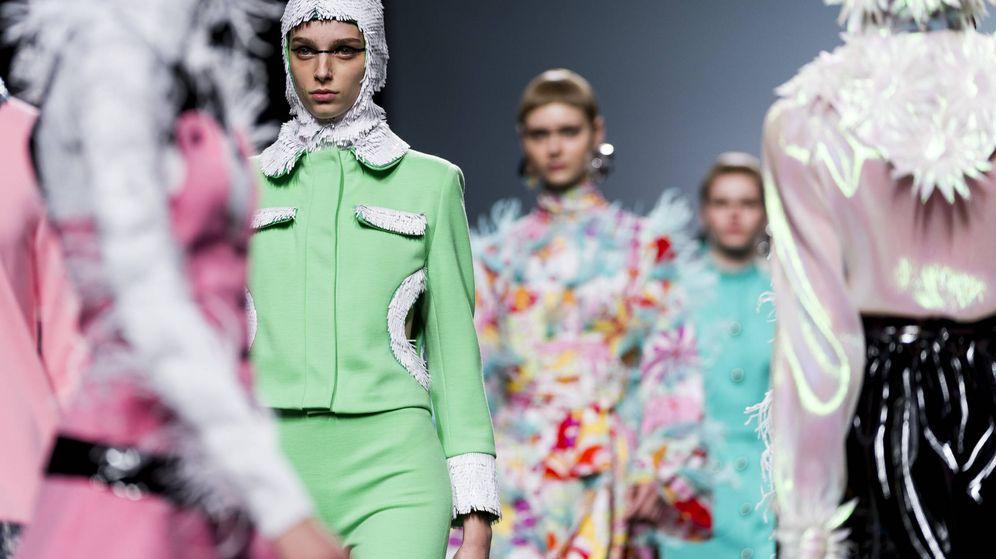 Foto: Imagen de la colección otoño-invierno 2018 de la diseñadora María Escoté. (Getty Images)