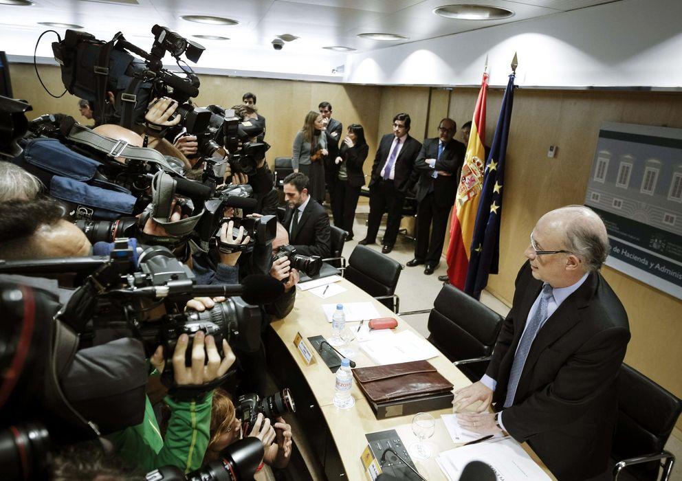 Foto: El ministro de Hacienda y Administraciones Públicas, Cristóbal Montoro . (EFE)