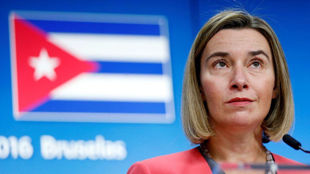Foto: Federica Mogherini, Alta Representante de Política Exterior y de Seguridad Común de la UE. (Reuters)
