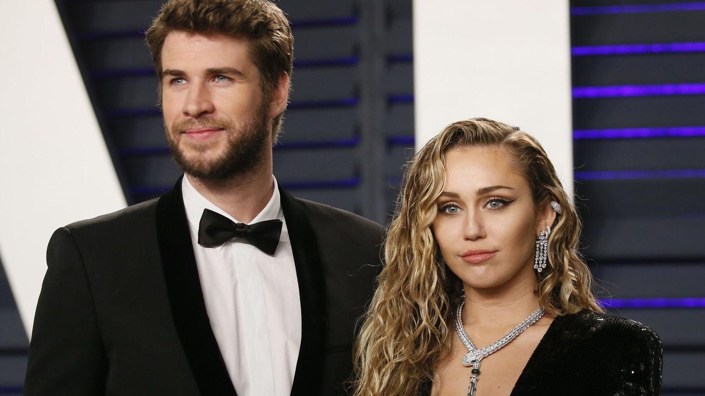 Liam Hemsworth y Miley Cyrus, en una imagen de archivo. (Reuters)