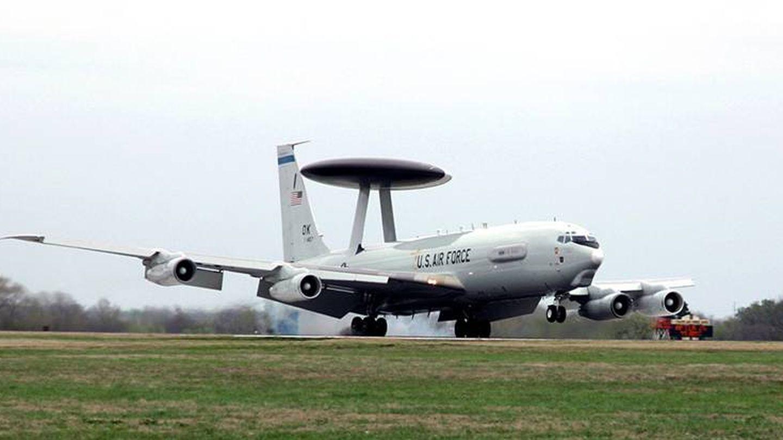 Avión AWACS. (Foto: U. S. Air Force)