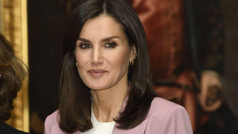 Doña Letizia, durante un evento en el Palacio Real. (Limited Pictures)