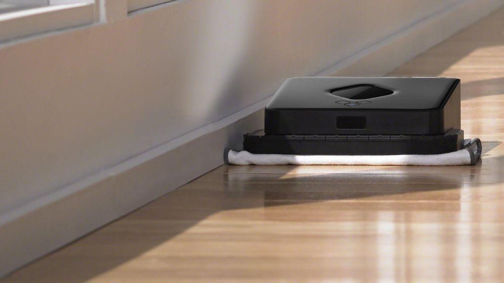 Foto: El nuevo robot-fregona de iRobot