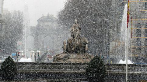 España, bajo cero: la nieve tiñe de blanco el país