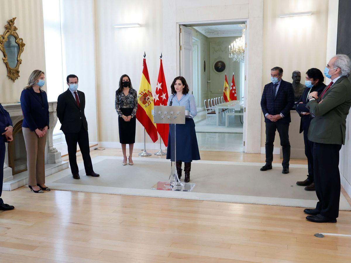 Foto: Las elecciones anticipadas en la Comunidad de Madrid ya son un hecho (EFE)