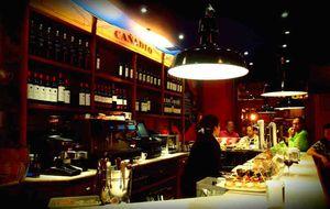 Cañadío, una gran barra de pinchos en Santander