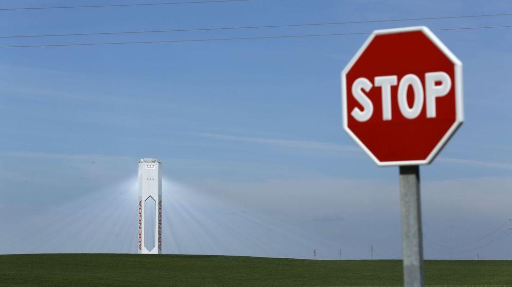 Foto: Torre de Abengoa. (Reuters)