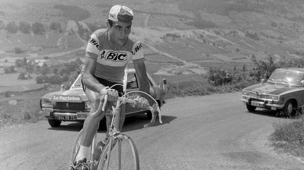 Foto: Luis Ocaña, en el Tour de Francia.