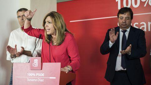Díaz pide abrir una nueva puerta al cambio y a un tiempo mejor en el PSOE