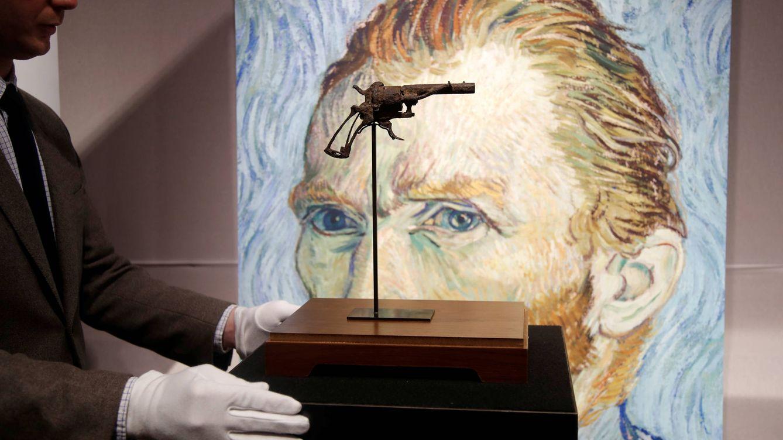 Foto: El revólver con el que se cree se disparó el artista. (REUTERS)
