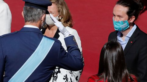 La polémica detrás de la mascarilla de Pablo Iglesias