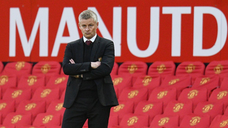 Solskjær, técnico del United, en una imagen reciente. (Reuters)