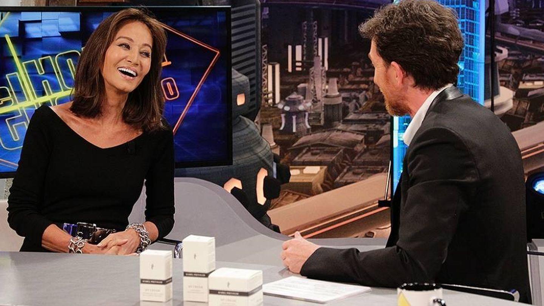 Isabel Preysler y Pablo Motos en 'El Hormiguero'. (Antena 3).