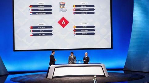 España jugará contra Inglaterra y Croacia en primera fase de Liga de Naciones