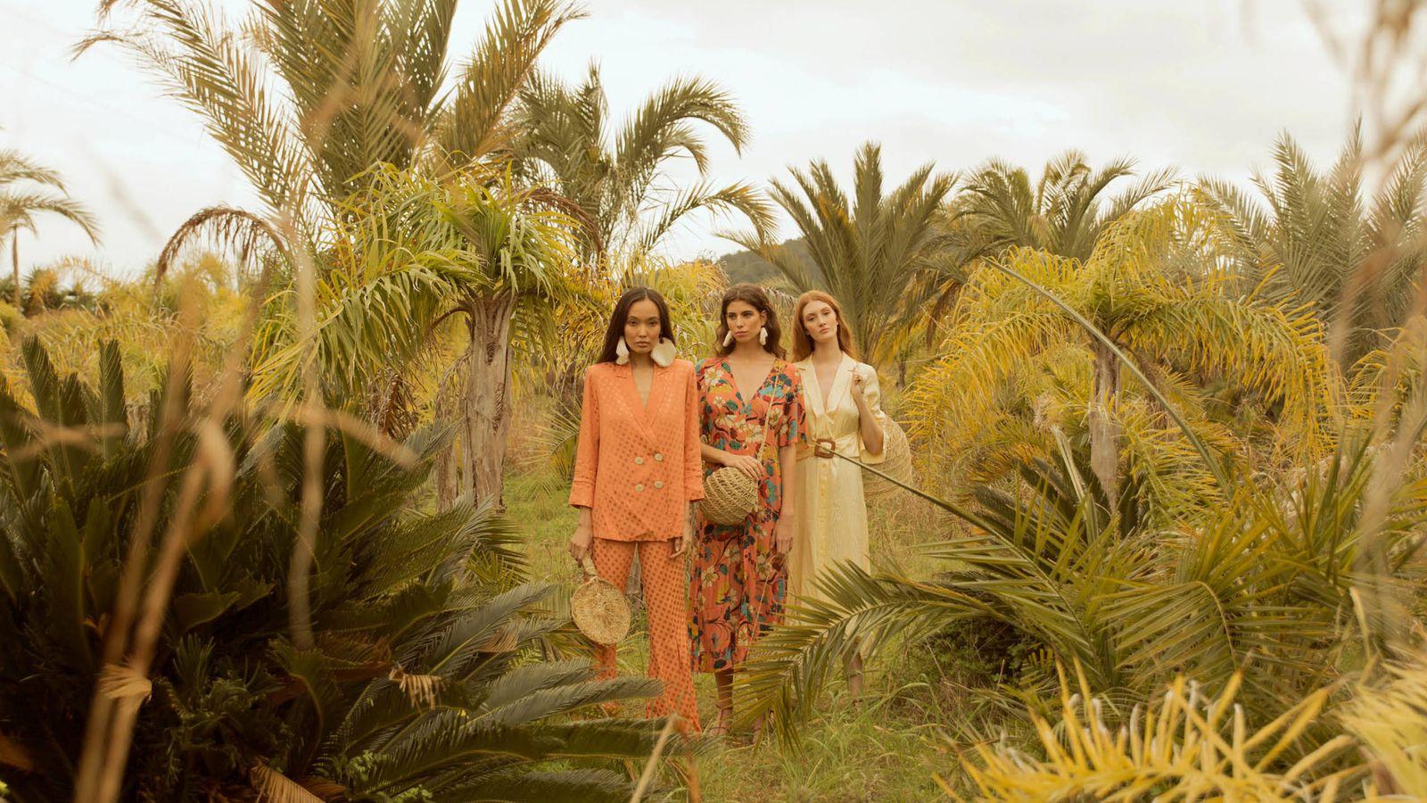 Foto: Sophie and Lucie es una de las marcas preferidas por las invitadas que visten de pantalón. (Cortesía)