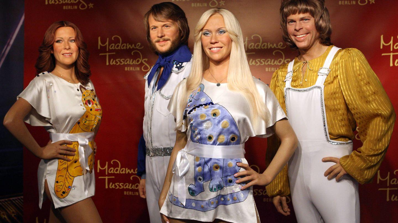 Las figuras de cera del grupo en el museo Madame Tussauds de Berlín. (Getty)
