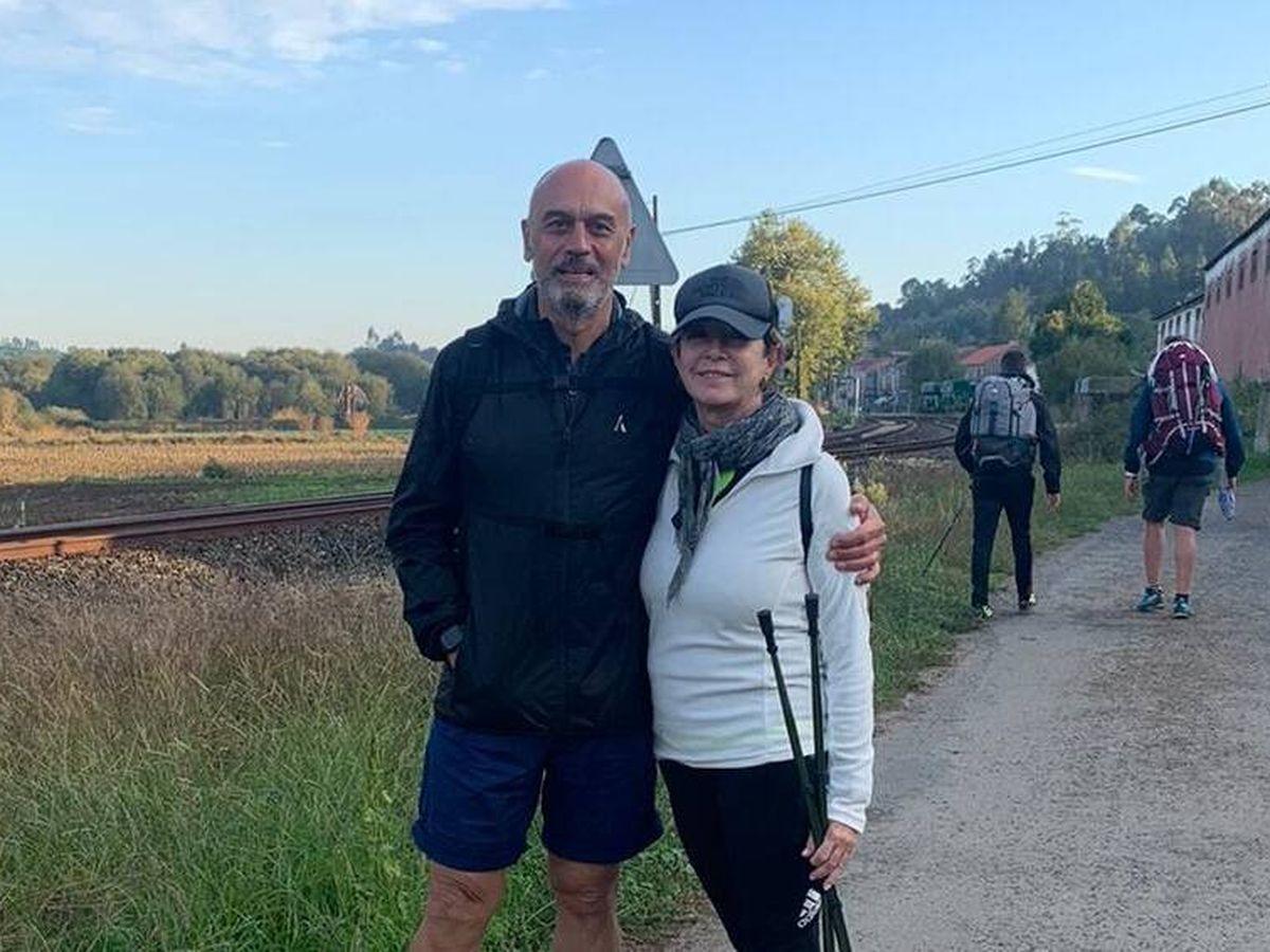 Foto:  Ana Rosa, con su marido. (Cortesía)