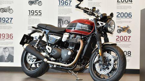 Triumph Speed Twin, una moto atractiva, cómoda y tecnológica