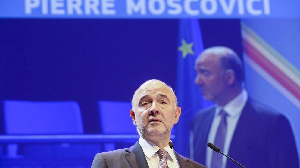 Foto:  El comisario europeo de Asuntos Económicos y Financieros, Pierre Moscovici. (EFE)