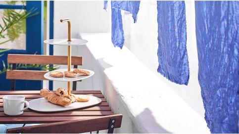 Tres indispensables de Ikea si tu balcón es estrecho pero lo quieres con estilo