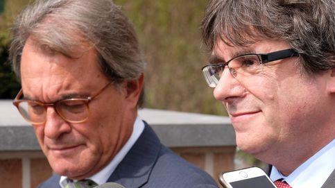Mas viaja en secreto a Ginebra para tratar la investidura de Sánchez con Puigdemont