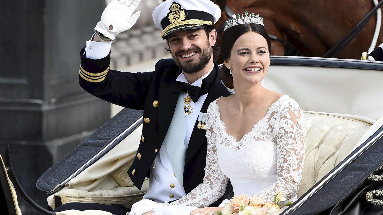Boda de Carlos Felipe y Sofia Hellqvist. (Reuters)