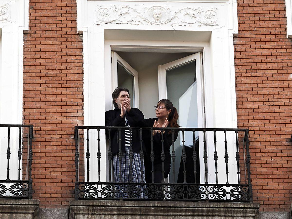 Foto: Joaquín Sabina y Jimena Coronado. (Getty)