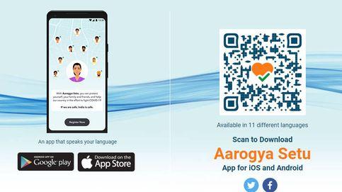 Una ciudad india obliga a instalar una app de rastreo contra el covid-19 bajo sanciones