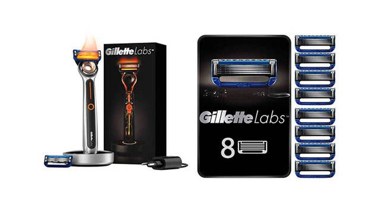 Cuchilla de afeitar Gillette Labs térmica