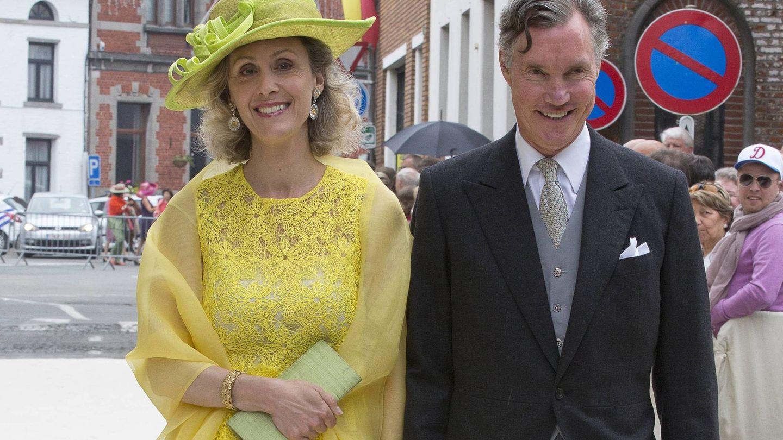 Sybilla de Luxemburgo y su marido. (CP)