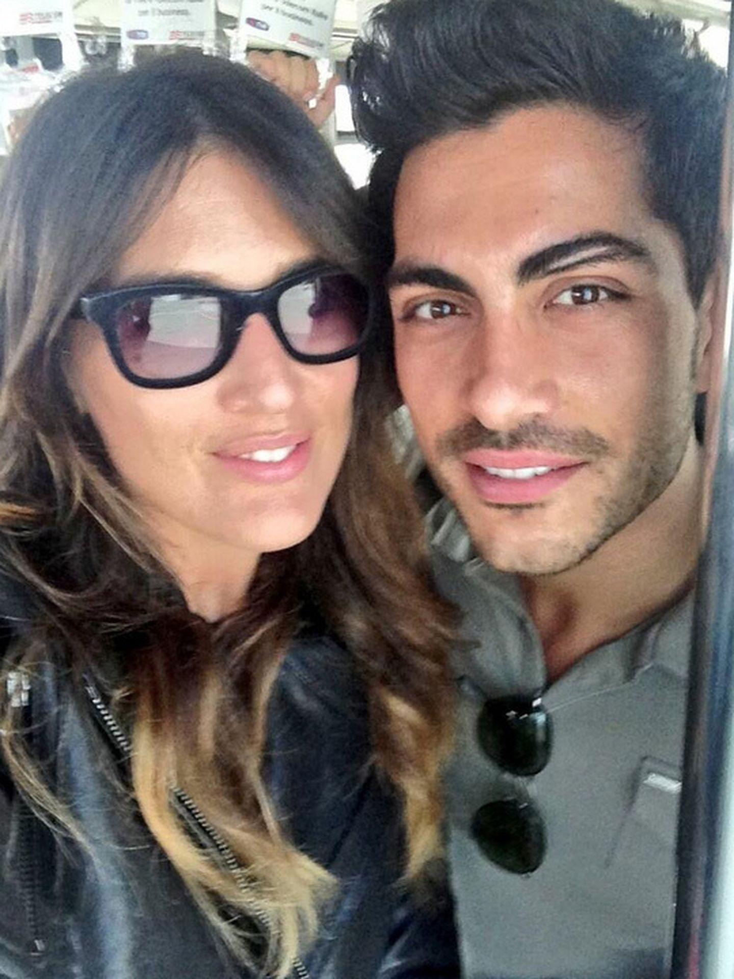 Katia Ancelotti y Mino Fulco (Twitter)