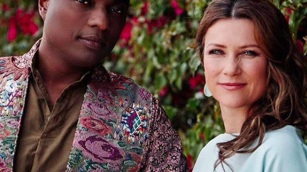 Foto: La princesa Marta Luisa con su nuevo novio. (Redes Sociales)