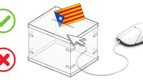 ¿Papeletas, impresoras? Por qué Cataluña no usará el voto 'online' el 1-O