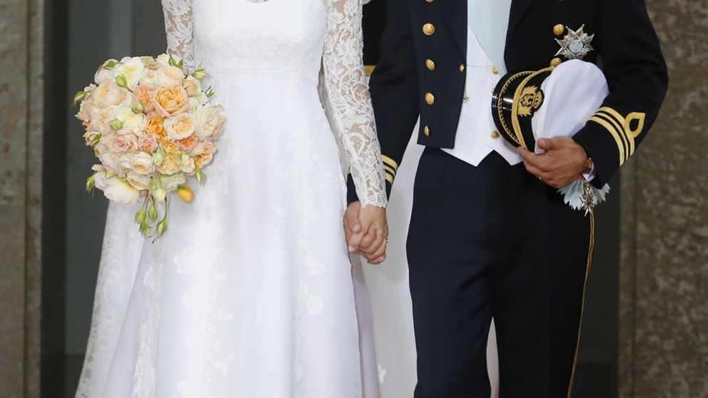 Los 12 meses de casados de Carlos Felipe y Sofía en 12 imágenes