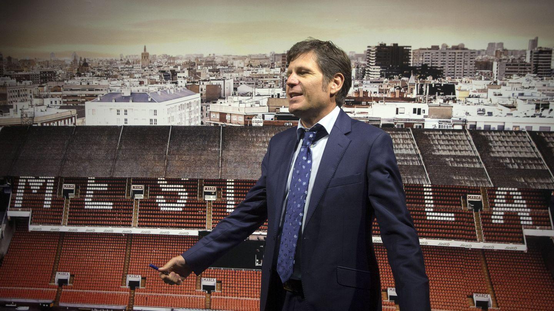 En la imagen, Mateu Alemany, director general del Valencia. (EFE)