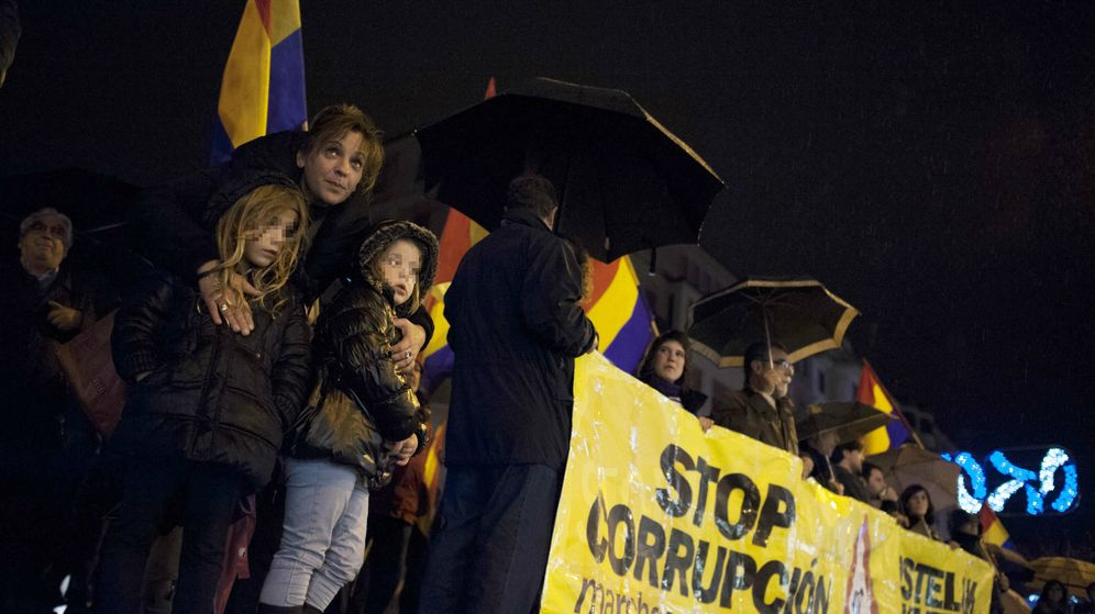 Foto: Las marchas por la Dignidad protestan contra la corrupción en España. (Gtres)