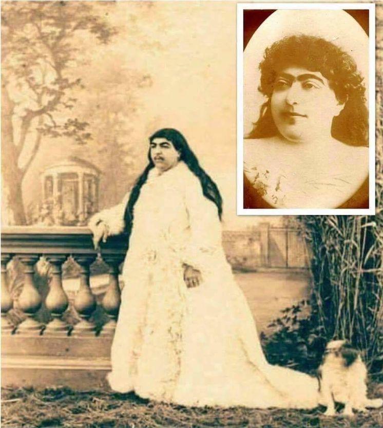 Foto: La (no) princesa Qajar.