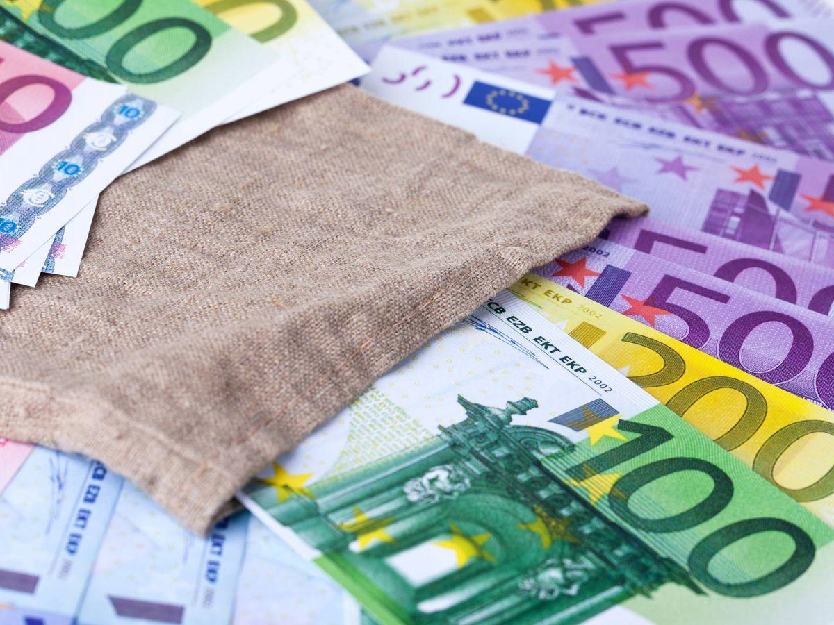 Foto: Billetes de euros. (Unsplash)