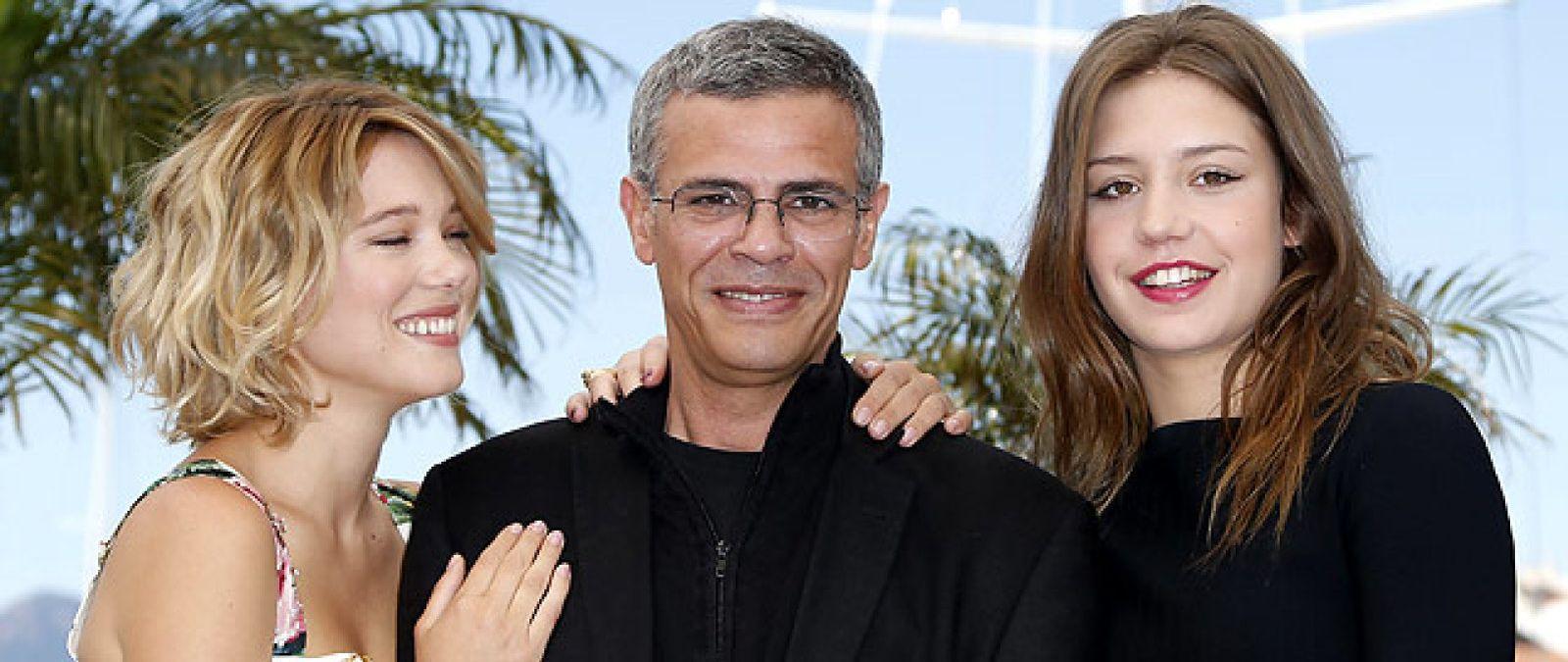 Foto: Una historia de amor lésbico conquista al jurado de Cannes