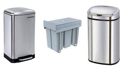 Los cubos de basura que necesitas para mantener tu casa libre de residuos