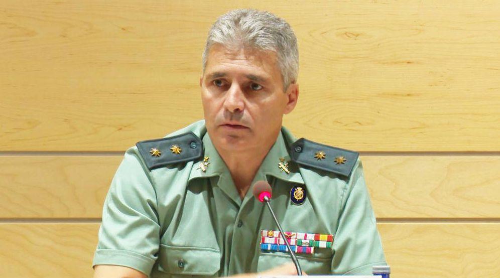 Foto: El teniente coronel David Blanes González. Guardia Civil