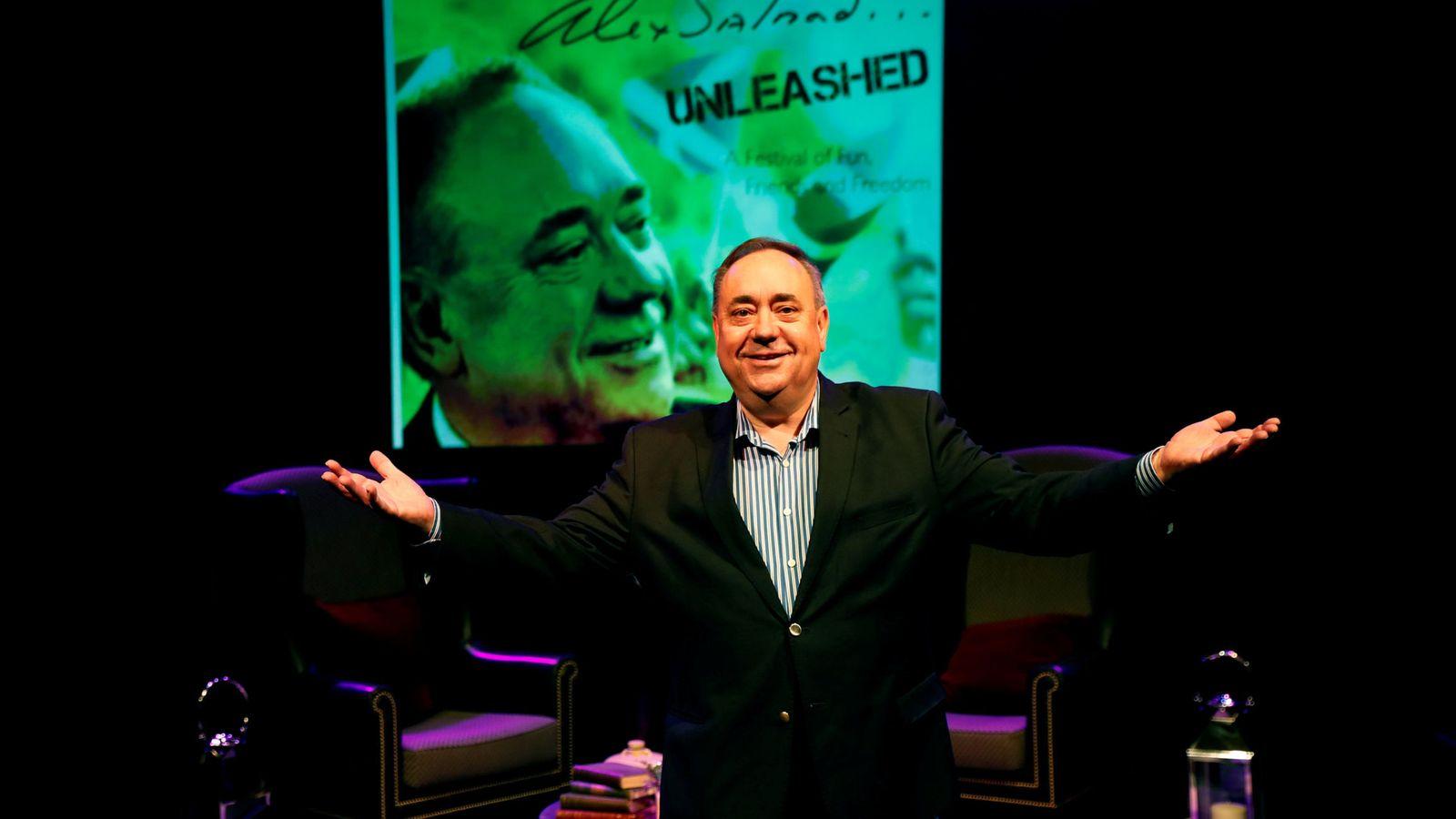 Foto: El exministro principal de Escocia Alex Salmond. (Reuters)