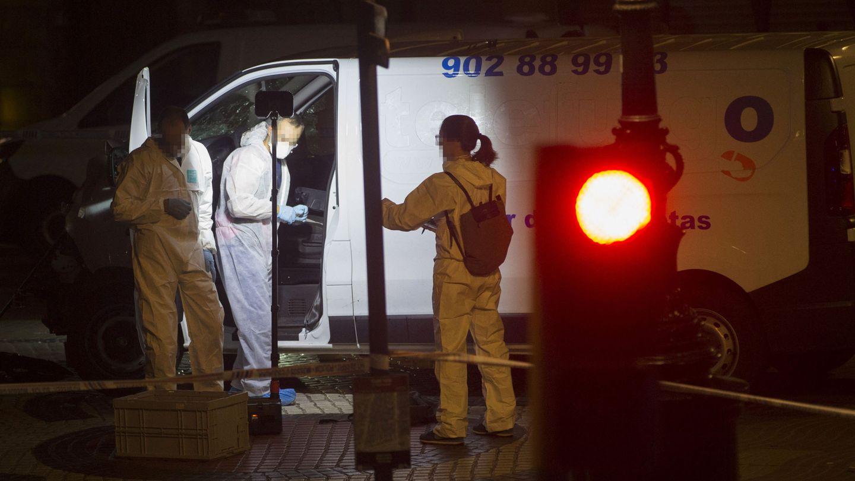 Imagen de una de las furgonetas utilizadas en el atentado. (EFE)