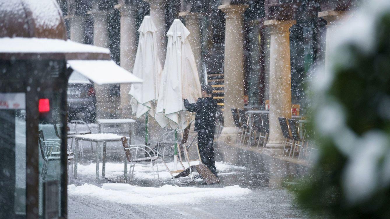 Los bares y restaurantes de Madrid cifran en 70 M las pérdidas provocadas por la nieve