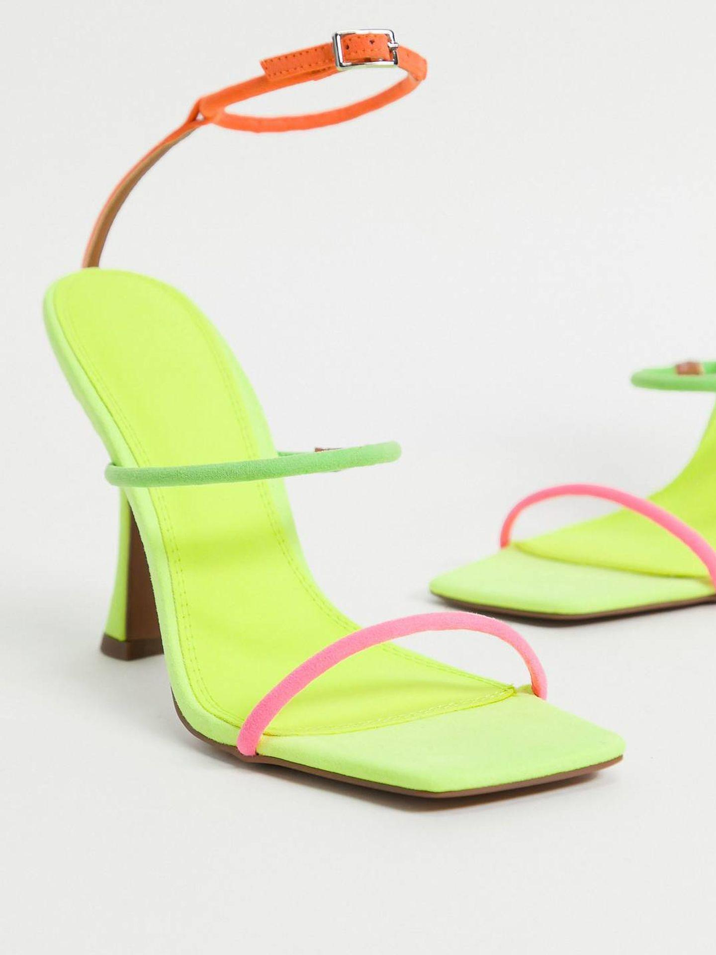 Sandalias strappy de Asos Design. (Cortesía)
