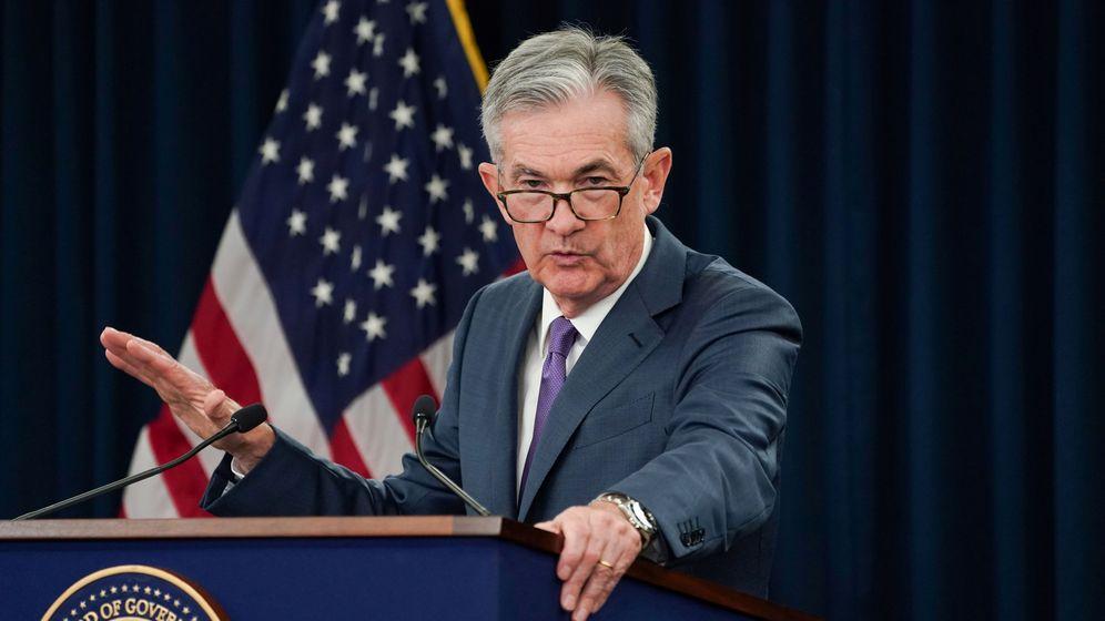 Foto: El presidente de la Reserva Federal (Fed), Jerome Powell, en una comparecencia. (Reuters)
