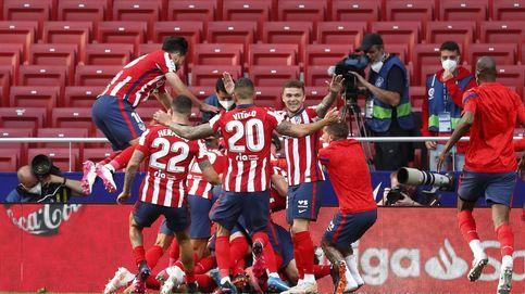 El Atlético remonta en un final de infarto y depende de sí mismo para ganar LaLiga (2-1)