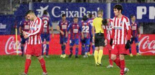 Post de Aficionados del Atlético de Madrid realizan el saludo nazi en Eibar