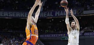 Post de El trance de Rudy Fernández desde el triple en la victoria del Real Madrid ante el Valencia