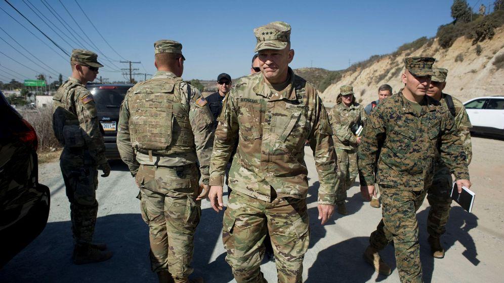 Foto: Imagen de archivo de varios soldados de EEUU. (EFE)